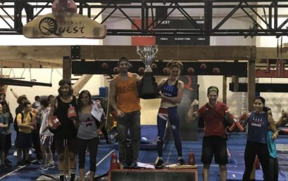 Drew Drechsel & Olivia Vivian win the Season 3 Final Competition of National Ninja League (NNL)