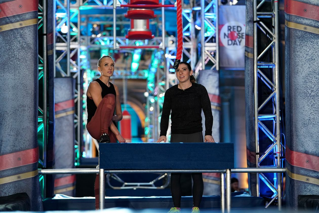 TV Recap: S10E0 – American Ninja Warrior Red Nose Day Celebrity Special