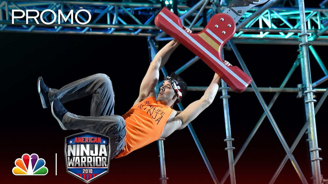 TV Recap: S10E15 – America Ninja Warrior Season 10 Las Vegas National Finals Stages 2, 3 & 4 2018