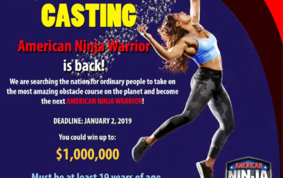 Applications open for casting of Season 11 of American Ninja Warrior in 2019