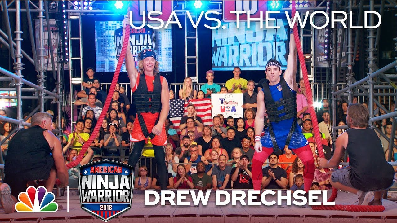 TV Recap: American Ninja Warrior USA vs the World 2019