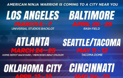 2019 Filming Dates & Locations for Season 11 of American Ninja Warrior Announced
