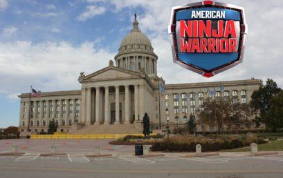 Calls for Oklahoma City going out to ninjas competing on Season 11 of American Ninja Warrior