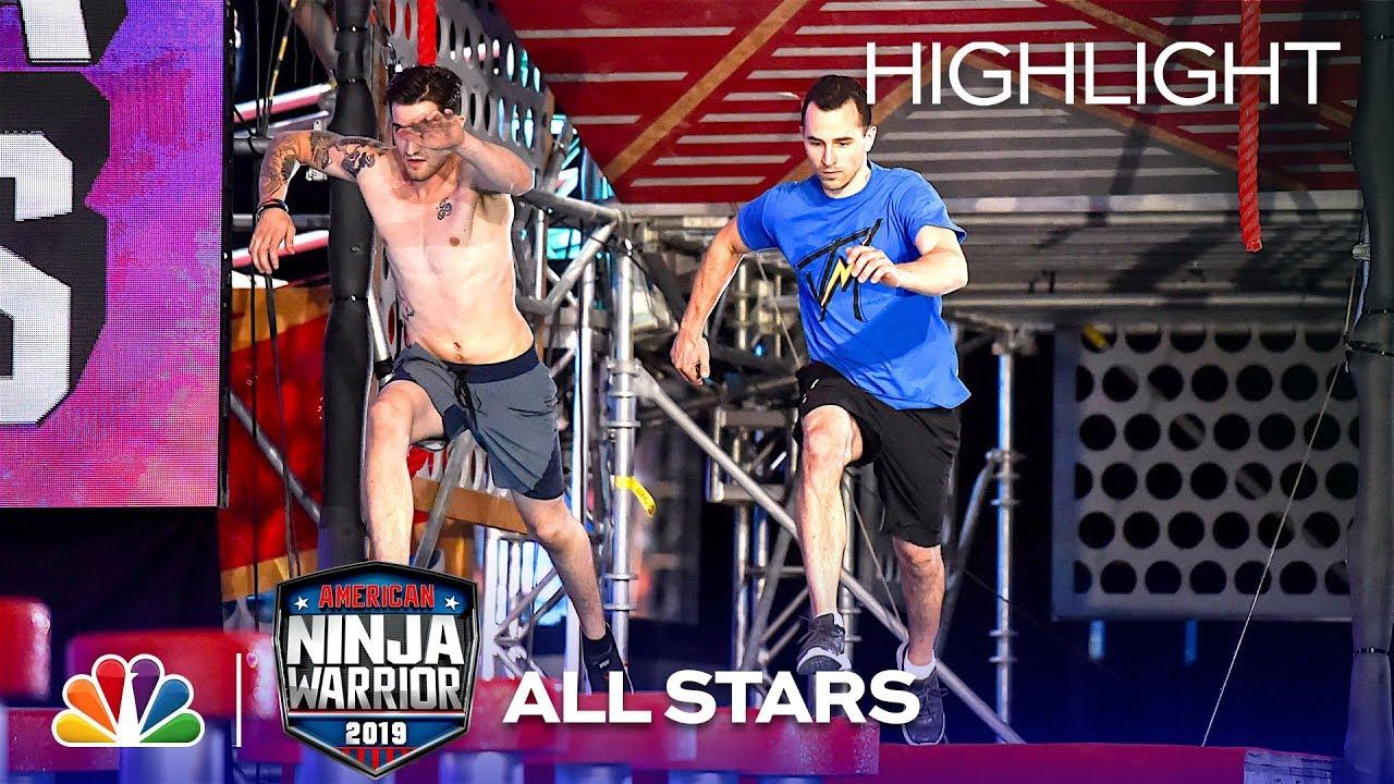 TV Recap: American Ninja Warrior All Star Special – Team & Skills Competition  2019