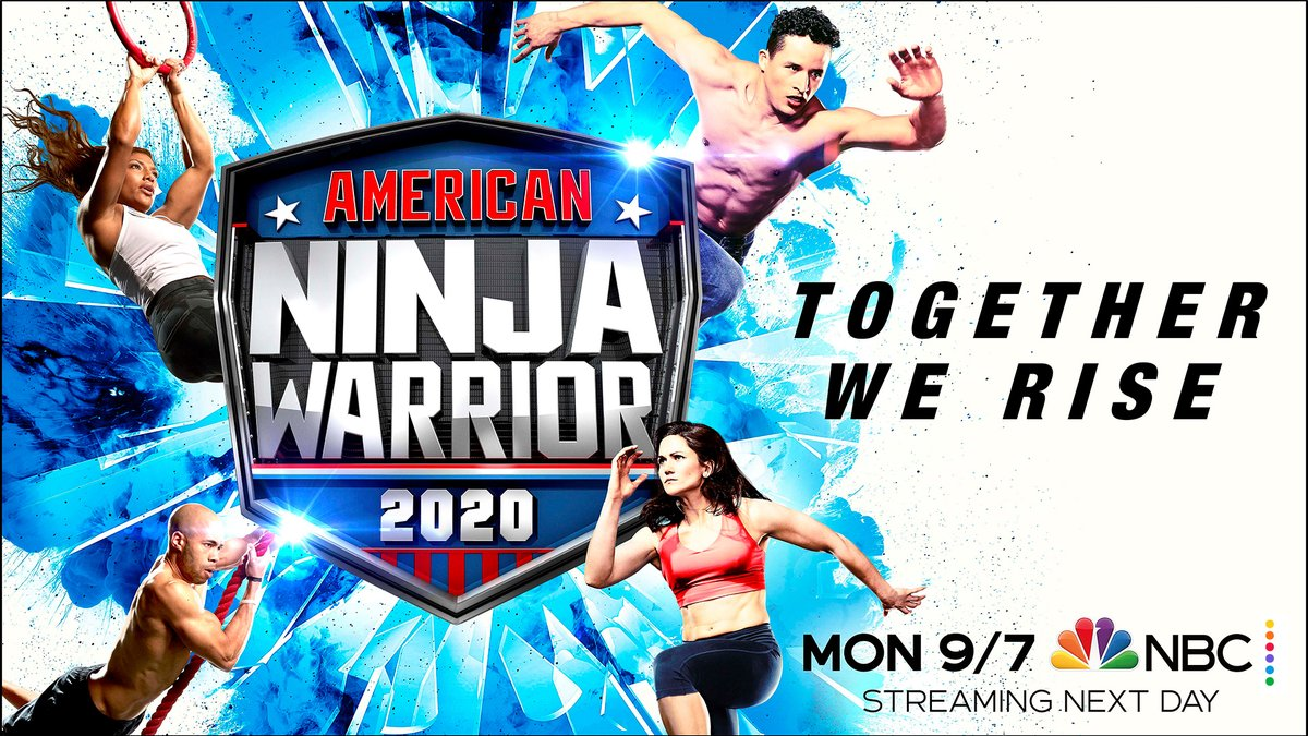Ninjas competing on Season 12 of American Ninja Warrior 2020