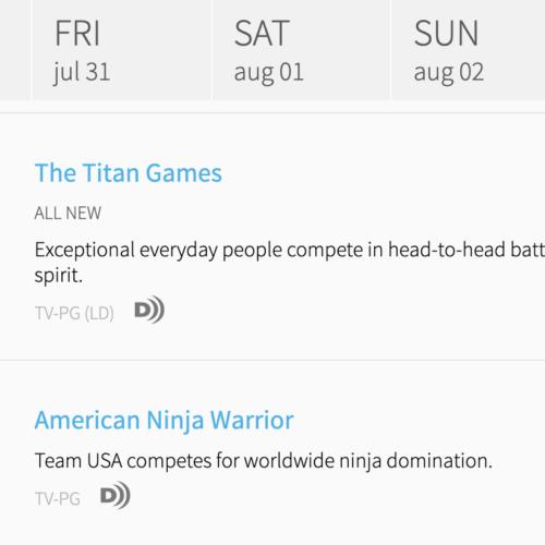USA vs The World episodes to rerun – leading up to American Ninja Warrior Season 12?