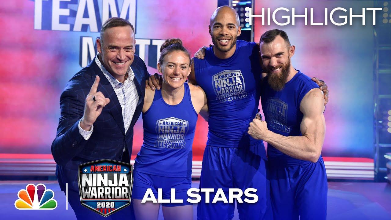 TV Recap: American Ninja Warrior All Star Special – Team & Skills Competition  2020